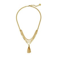 Vince Camuto Frontal Tassel Necklace Gold - Zappos.com Free Shipping BOTH Ways