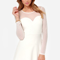 Allure the One Ivory Dress