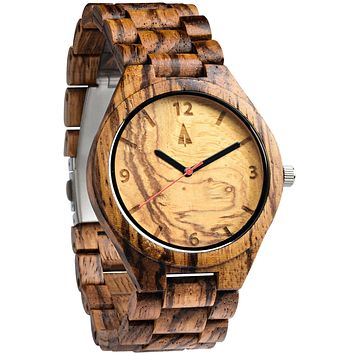 All Zebrawood + Olive Ash