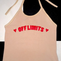 SWEET LORD O'MIGHTY! OFF LIMITS HALTER IN NUDE