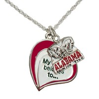 University of Alabama Necklace - My Heart Belongs To