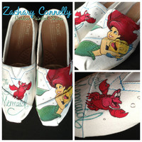 The Little Mermaid Disney Toms Shoes