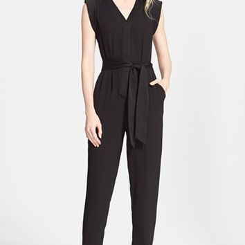 Women's kate spade new york satin crepe jumpsuit,