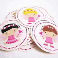 36 Cute Fairy Stickers Labels from Adorebynat