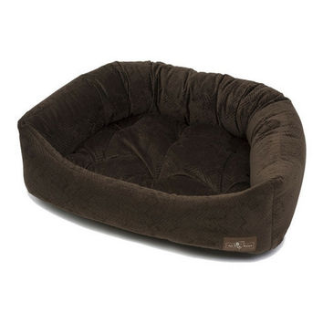 Napper Dog Bed — Henna Espresso