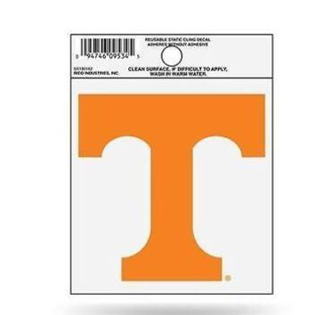 "University of Tennessee Static Cling Auto NCAA Logo Rico Small SS 4.5"" x 3.5"""
