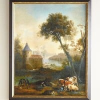 John-Richard Collection The Castles Pasture Giclee