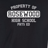 PROPERTY OF ROSEWOOD HIGH SCHOOL T-shirt Pretty Emily Little Pll Liars Shepard