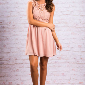 Join The Party Dress, Mauve