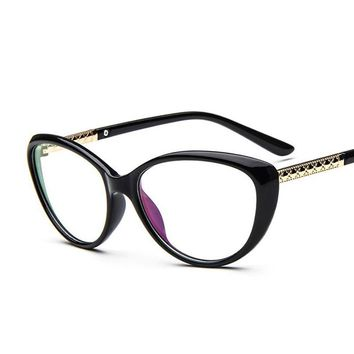New Brand Designer Sunglasses Women Optical Glasses Spectacle Frame Cat Eye Eyeglasses Anti-fatigue Computer Reading Glasses