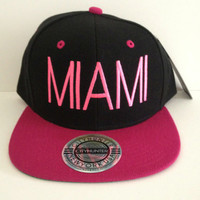 Miami City Snapback ONE size FITS all