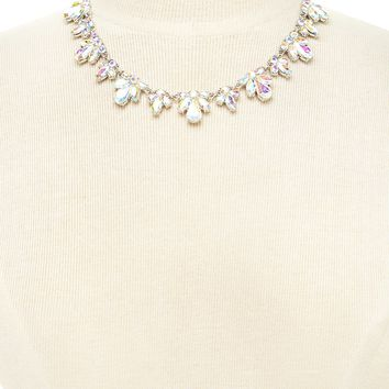 Iridescent Statement Necklace