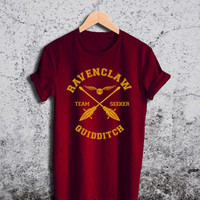 Ravenclaw Quidditch Shirt Harry Potter Unisex Tshirt