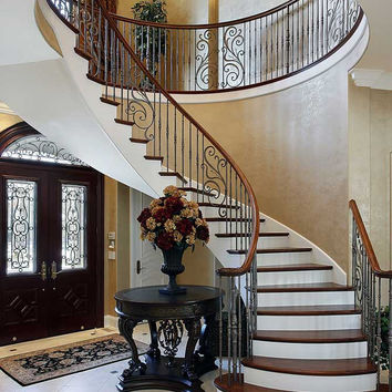 Spiral Marble Staircase Backdrop - 614