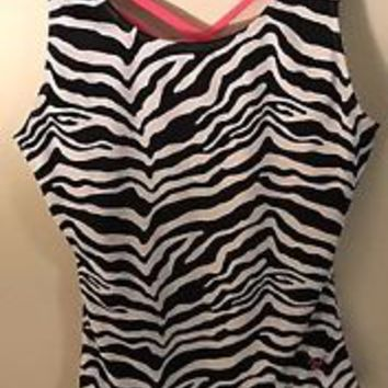 leotard With Shorts Size 16