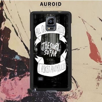 The Story So Far Art Samsung Galaxy Note 3 Case Auroid