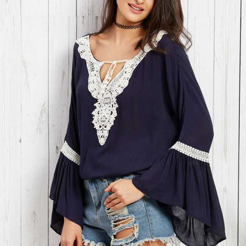 women shirt lace plus size blouse casual XL-5XL [9917651724]