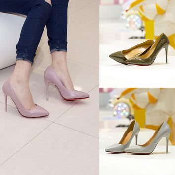 Summer Pointed Toe High Heel Shoes [11192812807]