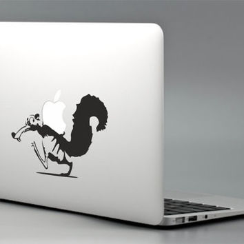 Ice age squirrel nut apple macbook laptop decal sticker mac pro air retina 13