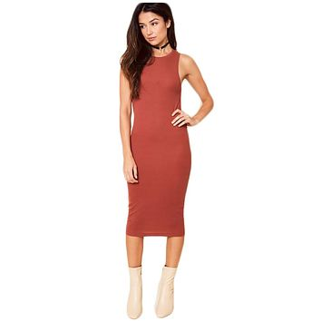 Simple Rust Dress