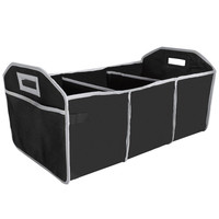 Evelots® Trunk Organizer, Collapsible & Portable, Vehicle Storage & Organization
