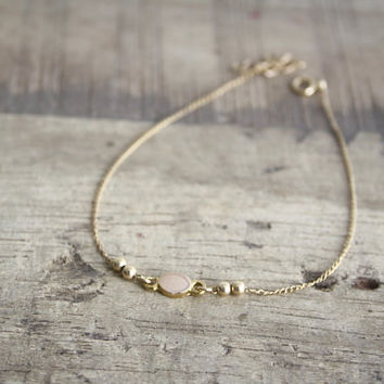 birthday anklet dainty gift chain satellite silver amazon gold idea com dp