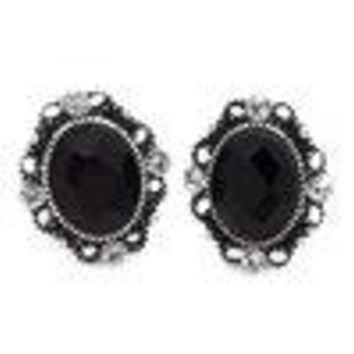 A Spring Wedding Black Post Paparazzi Earring