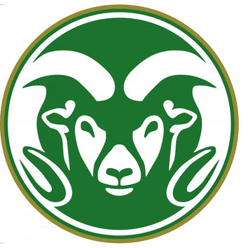 NCAA Colorado State Rams 3pc Self-Stick Wall Accent Set
