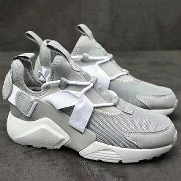 NIKE AIR HUARACHE RUN ULTRA BR  Fashion Running Sport Sneakers Shoes White G-XYXY-FTQ