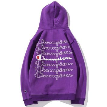 Champion Fashion Casual Top Sweater Pullover Hoodie-40