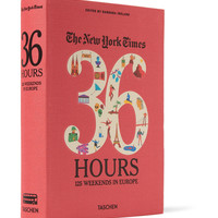 Taschen The New York Times 36 Hours: 125 Weekends In Europe | MR PORTER