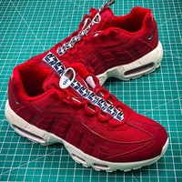 Nike Air Max 95 TT Red White AJ1844-600 Sport Shoes - Best Online Sale