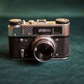 FED 5С/Rangefinder camera ussr/Industar-61/Russian film camera/Retro camera/Soviet camera
