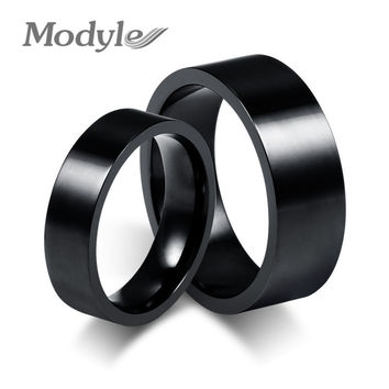 New Fashion Steel Rings for Men and Women Wedding and Engagement Ring Stainless Steel