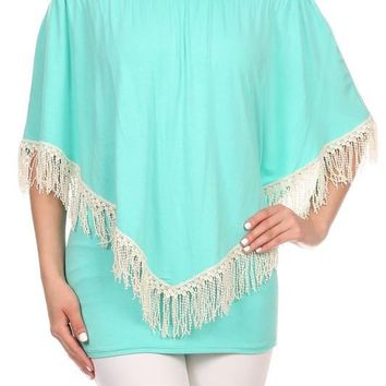 Fringe 4 Way Convertable Top