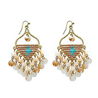 Panacea Fringe Earrings - Multi