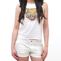 COUGAR CROP TOP - APRIL