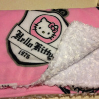 Hello Kitty Minky Blanket SALE