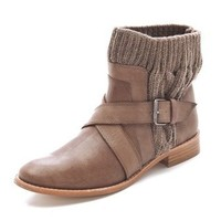Splendid Toronto Wrap Strap Knit Booties | SHOPBOP