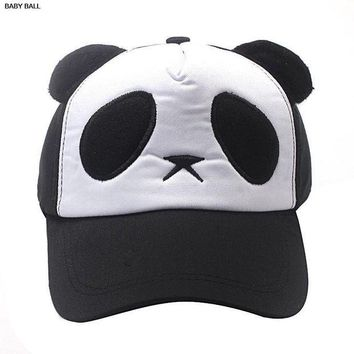 DCCKWJ7 otton Cute Panda Baseball Cap Hat Black cap winter hat  hats for women winter hats for women pokemon caps balaclava