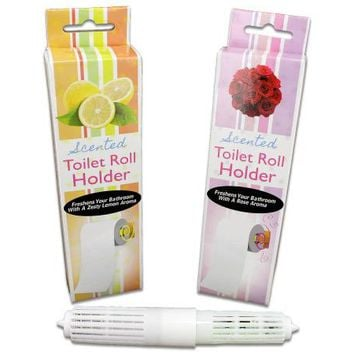 Rose Scented Toilet Paper Roll Holder ( Case of 72 )