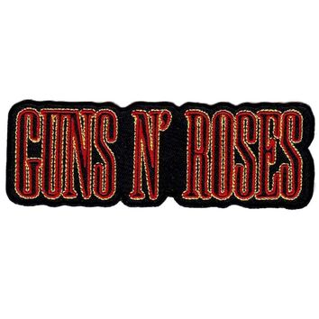 """Guns N' Roses"" Print Patch"