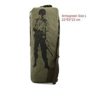 Climbing bag 24/33/40L 3-size Sturdy Canvas Tactical Backpack Rucksacks Military Army Bag Men Women Outdoor Travel Hiking Camping Bag HAB016KO_4_1