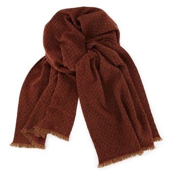 Cashmere Siena Scarf, Red/Camel, RED/CAMEL - Loro Piana