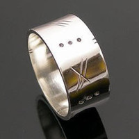 Mens Ring, Mens Wedding Ring, Silver Ring