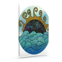 "Pom Graphic Design ""Oceania"" Outdoor Canvas Wall Art"