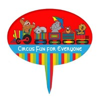 Circus Fun for Everyone Cake Pick