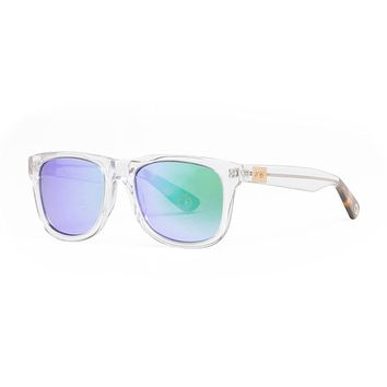 Proof Ontario Eco Crystal Clear Sunglasses, Kush Mirror Lenses