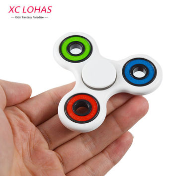High Quality 3 Colors Tri-Spinner Fidgets Anti Stress toy