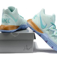 KYRIE 5 x SQUIDWARD TENTACLES Basketball Shoes